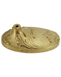 Cast Brass Table Lamp Base