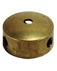 "2"" Cast Brass Body - 3 Holes"