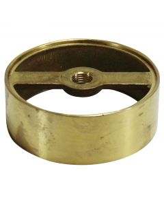 "2-3/8"" Cast Brass Body - No Holes"