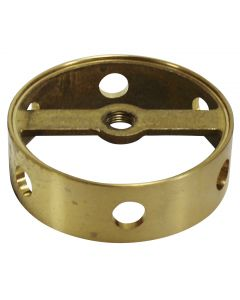 Cast Brass Body Center - 6 Holes