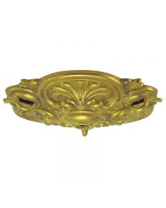 Cast Brass Multi-Chain Canopy - Unfinished