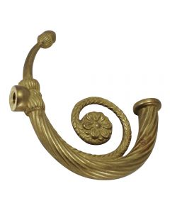 "4-3/4"" Cast Brass Fluted Arm"
