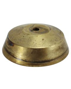 "3-1/2"" Cast Brass Tapered Body Ring With Top-No Holes"