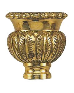 Cast Solid Brass Candle Cup - Unfinished