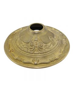 Cast Brass Screw Collar Canopy