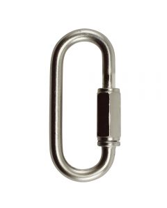 "3.5mm Connecting ""Quick"" Link - Satin Nickel"