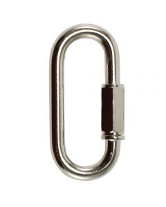 "6mm Connecting ""Quick"" Link - Nickel"