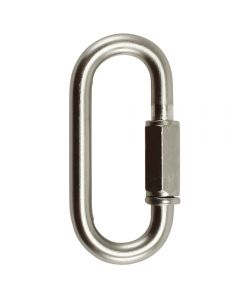 "6mm Connecting ""Quick"" Link - Satin Nickel"