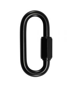 "6mm Connecting ""Quick"" Link - Black"