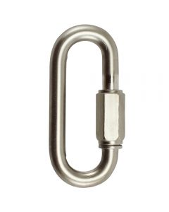 "8mm Connecting ""Quick"" Link - Satin Nickel"