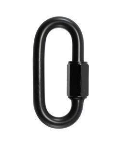 "8mm Connecting ""Quick"" Link - Black"