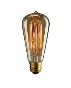 S-21 60W Antique Style Reproduction Bulbs