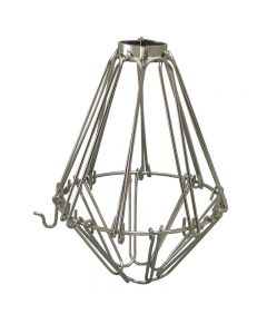 Premium Bulb Cage - Open / Close Style - Nickel
