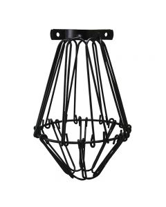 Premium Bulb Cage - Open / Close Style - Black