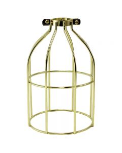 Premium Bulb Cage - Open Style - Clamp On
