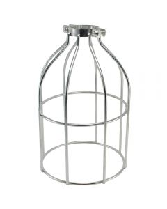 Premium Bulb Cage - Open Style - Clamp On - Galvanized