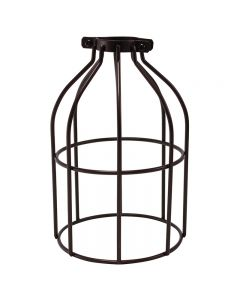 Premium Bulb Cage - Open Style - Clamp On - Bronze