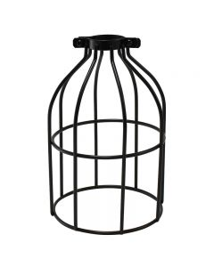 Premium Bulb Cage - Open Style - Clamp On - Black