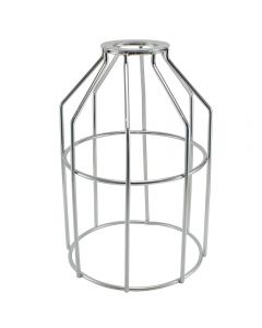 Premium Bulb Cage - Open Style - Washer Mount - Galvanized