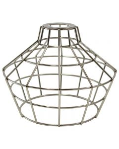 Premium Bulb Cage - Large Basket Style - Nickel