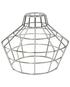 Premium Bulb Cage - Large Basket Style - Galvanized