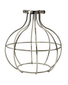 Premium Bulb Cage - Large Sphere - Nickel
