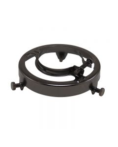 Clamp Style Glass Shade Holders Steel - Black Finish