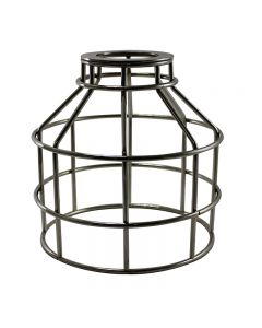 Jar Shaped Cage for Versa Series Pendants and Swag Kit - Nickel