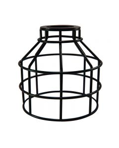 Jar Shaped Cage for Versa Series Pendants and Swag Kit - Bronze