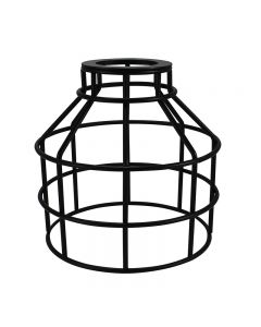Jar Shaped Cage for Versa Series Pendants and Swag Kit - Black