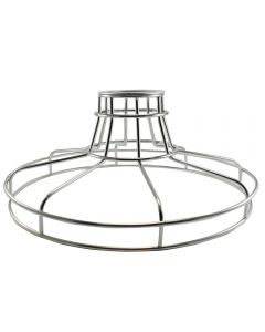 Railroad Shaped Cage for Versa Series Pendants and Swag Kit - Galvanized