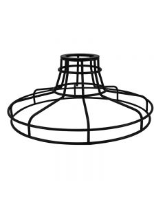 Railroad Shaped Cage for Versa Series Pendants and Swag Kit - Black