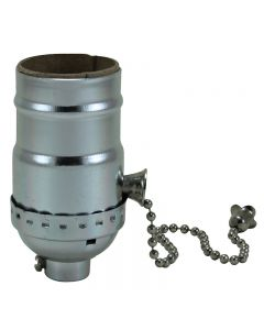 MB On/Off Pull-Chain Socket - Polished Nickel