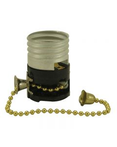 On/Off Pull-Chain Electrolier - Leviton