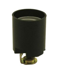 Medium Base Phenolic Socket - Screw Terminals