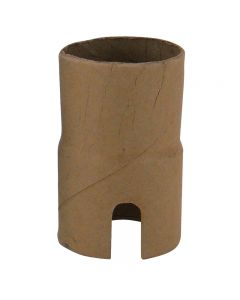 Medium Base Socket Paper Shell - Single Slot
