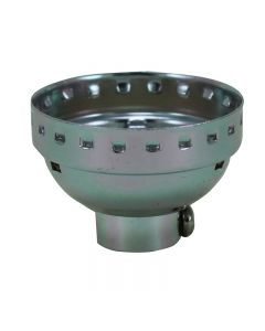 Medium Base Metal Shell Cap - Nickel