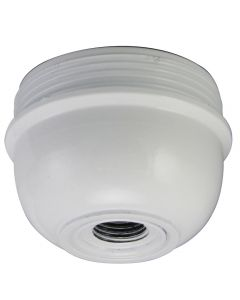 Cap for E26 3-Piece Phenolic Socket - White