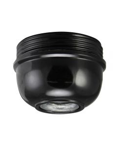 Cap for E26 3-Piece Phenolic Socket - Black