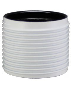 Skirt Only for E26 3-Piece Full Thread Phenolic Socket - White