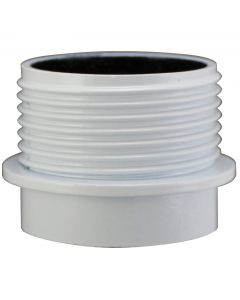 Skirt Only for E26 3-Piece Half Thread Phenolic Socket - White
