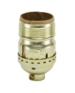 MB Keyless Short Socket - Polished Gilt - UNO