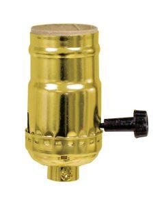 Solid Brass Medium Base Keyless Sockets