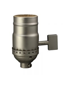 Big Key Solid Brass Socket - Satin Nickel