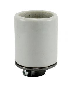 MB Socket, Glazed Porcelain with HD Metal Cap 1/8 IPS (150 Pack)