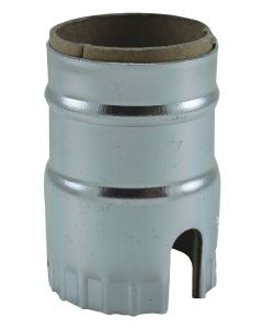 1-Slot Metal Shell - Nickel (Leviton)
