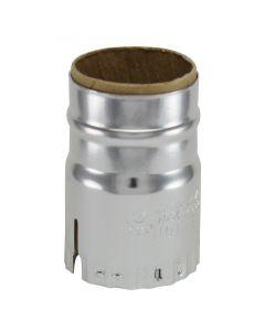 Keyless Metal Shell - Nickel (Leviton)