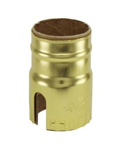 2-Slot Metal Shell - Polished Gilt (Leviton)