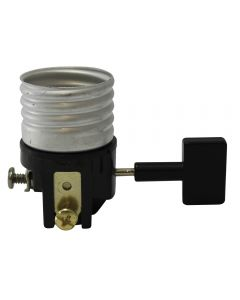 3-Way Oversized Black Key Electrolier - Leviton