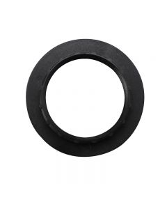 Large Ring for VLM E27, E26 and B22 3-Piece Phenolic Socket - Black